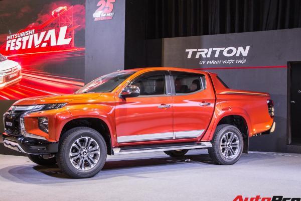 Mẫu xe bán tải Mitsubishi Triton 2020 Full Option ra mắt thị trường Việt Nam