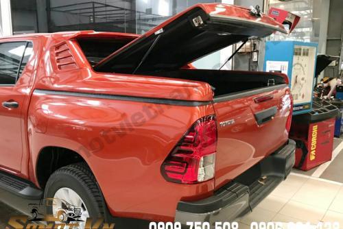 Nắp Thùng Thấp Mang Cá Toyota Hilux